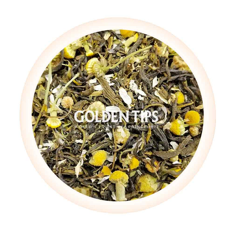 Chamomile Green Tea - Golden Tips