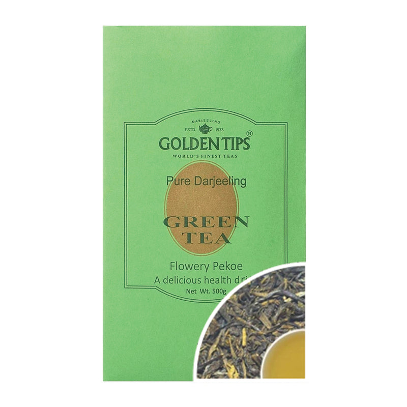 Darjeeling Loose Leaf Green Tea - Golden Tips