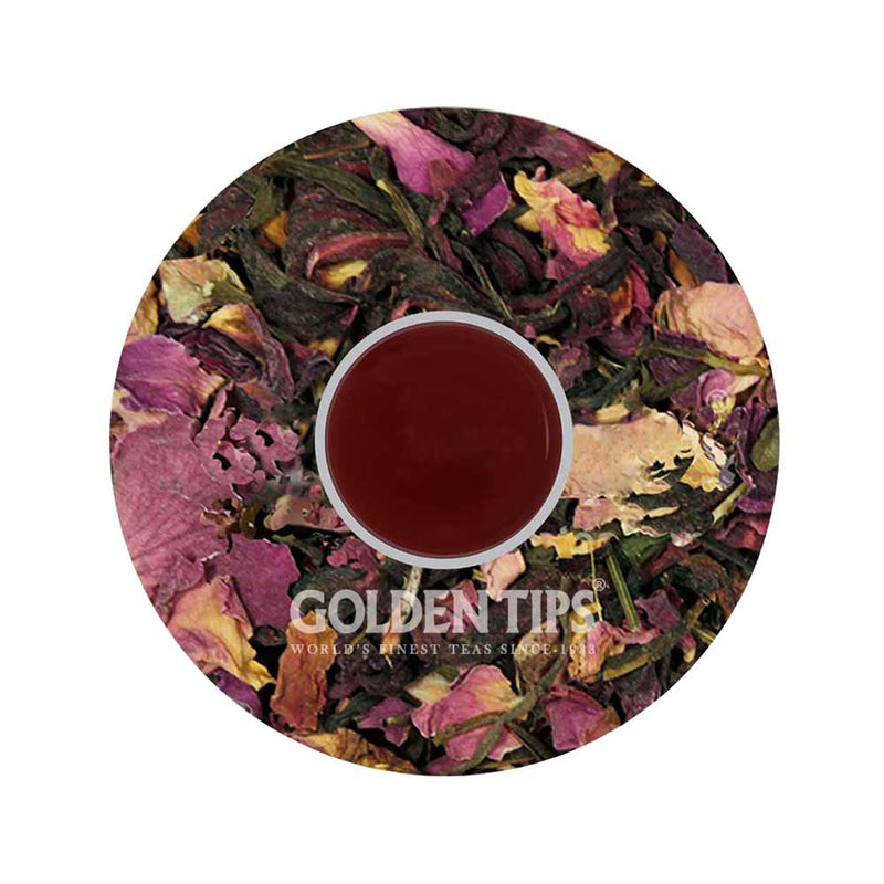Divine Potpourri - Licorice, Peppermint, Rose, Fennel, Hibiscus & Green Tea 100 Gm. - Golden Tips