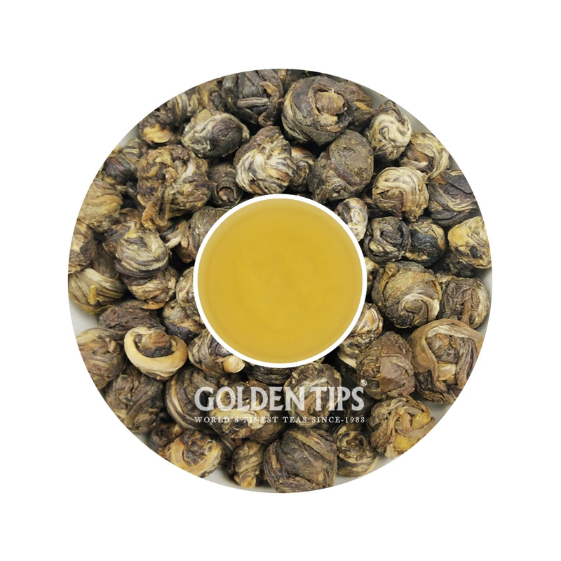 Jasmine Pearl Harbour Green Tea - Golden Tips