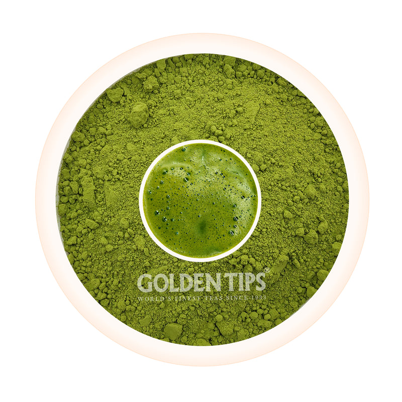 Japanese Matcha Green Tea Powder - Energy Booster and Anti-Oxidants - Golden Tips