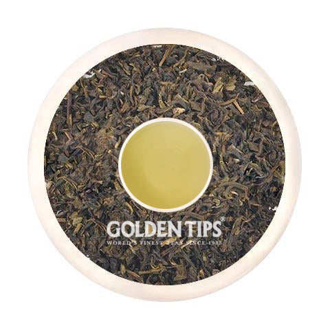 Peach Green Tea - Tin Can - Golden Tips