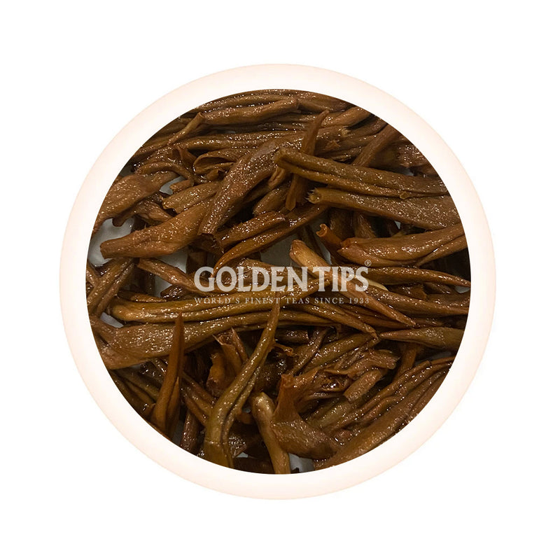 Golden Inferno - Prized Assam Golden Buds Black Tea - Second Flush 2020 - Golden Tips