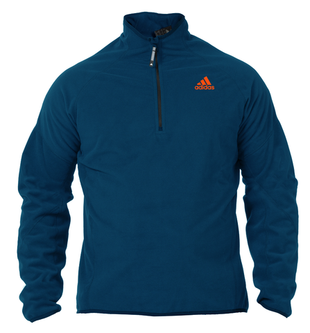 Dark blue adidas microfleece with red adidas logo for Sailing, Standup paddling (SUP), kayaking