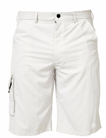 White adidas harbour shorts for SUP, Sailing and fishing