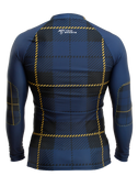 Back of the Highland Fling Trashee Rashguard made from Recycled Ocean Waste