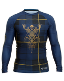 Front view of Highland Fling Trashee Rashguard made from Recycled Ocean Waste