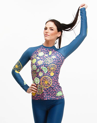 Women's High Ball Trashee Rashguard