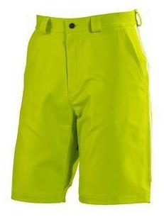 Lab Lime Adidas Sailing Men's Crew Shorts with YKK front fly zipper