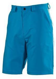 Solar Blue Adidas Sailing Men's Crew Shorts with YKK front fly zipper