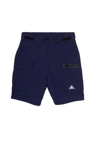 Adidas Sailing Women's Performance Shorts with white Adidas logo on the bottom of right leg