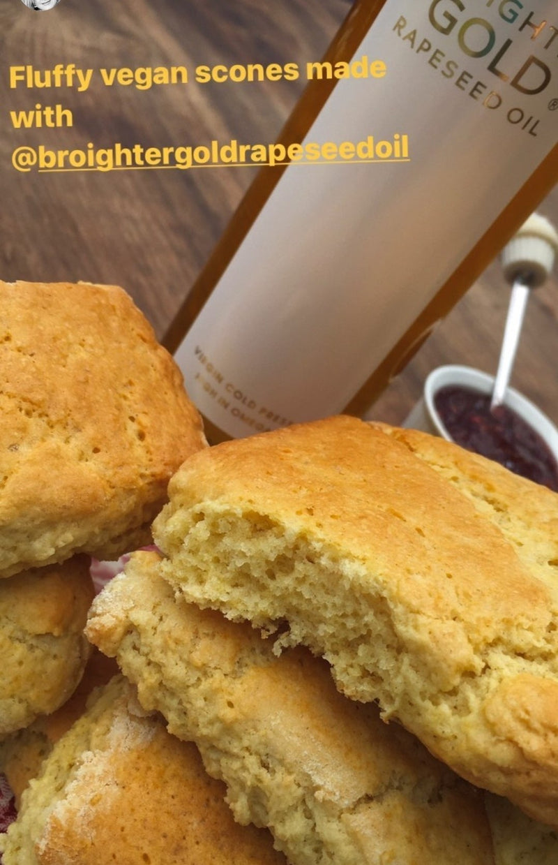 Plant base Scone Recipe (vegan)