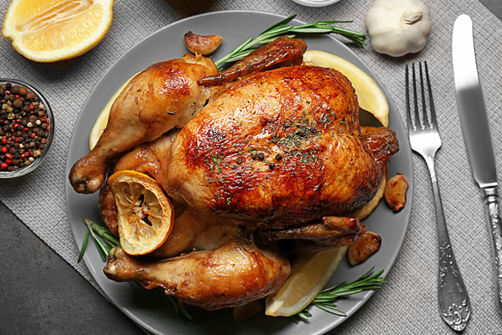 Roast Lemon Chicken (or try our ROSEMARY & GARLIC infused for an alternative!)