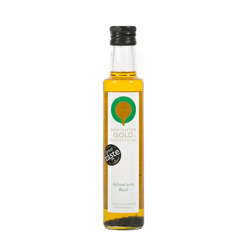Basil Infused Rapeseed Oil Rapeseed Oil Broighter Gold Rapeseed Oil
