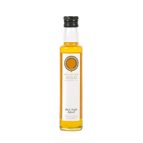 Black Truffle Infused Rapeseed Oil Rapeseed Oil Broighter Gold Rapeseed Oil
