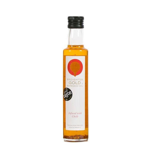 Chilli Infused Rapeseed Oil Rapeseed Oil Broighter Gold Rapeseed Oil