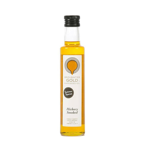Hickory Smoked Infused Rapeseed Oil Rapeseed Oil Broighter Gold Rapeseed Oil