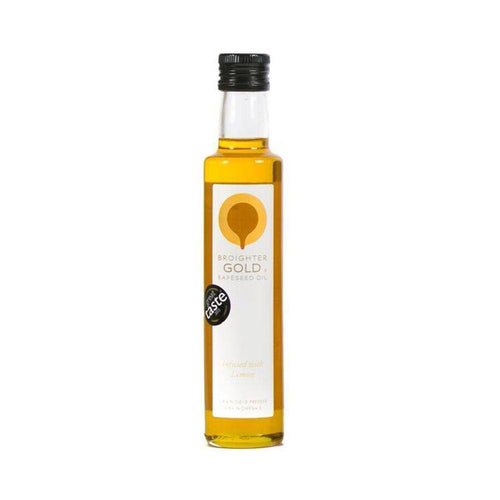Lemon Infused Rapeseed Oil Rapeseed Oil Broighter Gold Rapeseed Oil