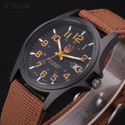 Military Analog Watch - TacWatches
