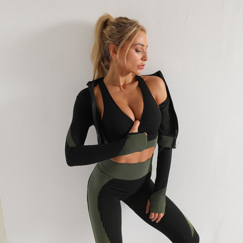 Seamless Women Yoga Sets - Watches And Outdoor Gear