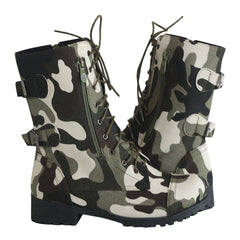 Women's Camouflage Boots