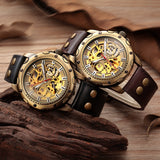 Skeleton Mechanical Watches
