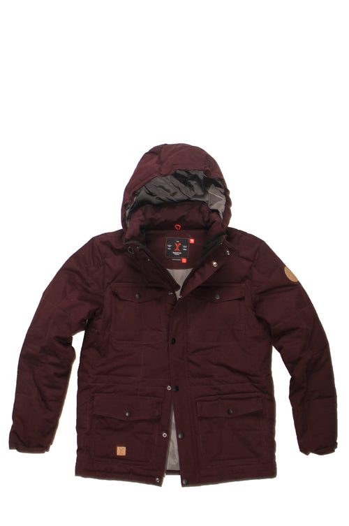 Positive Group, COLD LAKE JACKET - oxblood