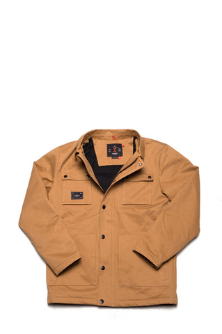 HEMLOCK JACKET-red ochre