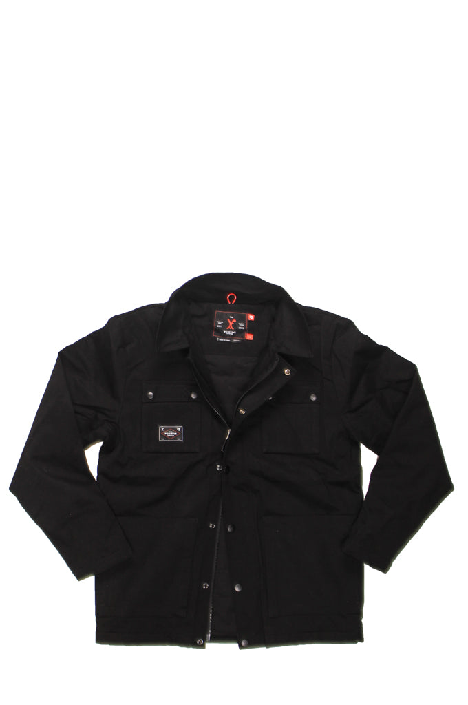 JAYDUB JACKET - JET BLACK   IF00109, Positive Group,