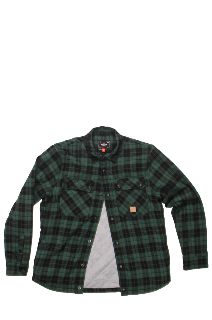MAPLE CREEK SHIRT- CLASSIC PLAID GREEN, Positive Group,