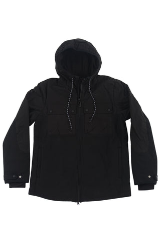 KINGSTON HOODIE -JET BLACK