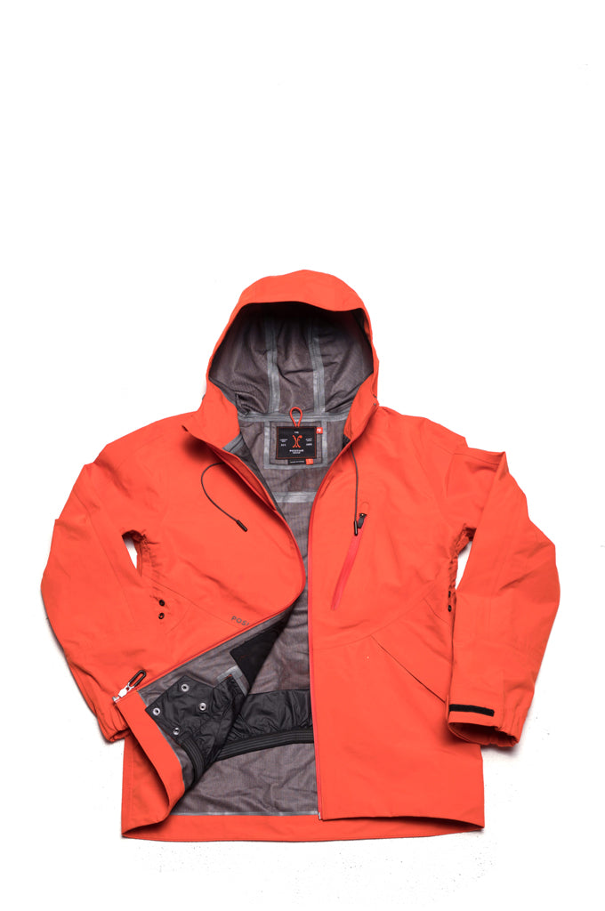 ROMAIN DeMARCHI JACKET - SPICY ORANGE, Positive Group,
