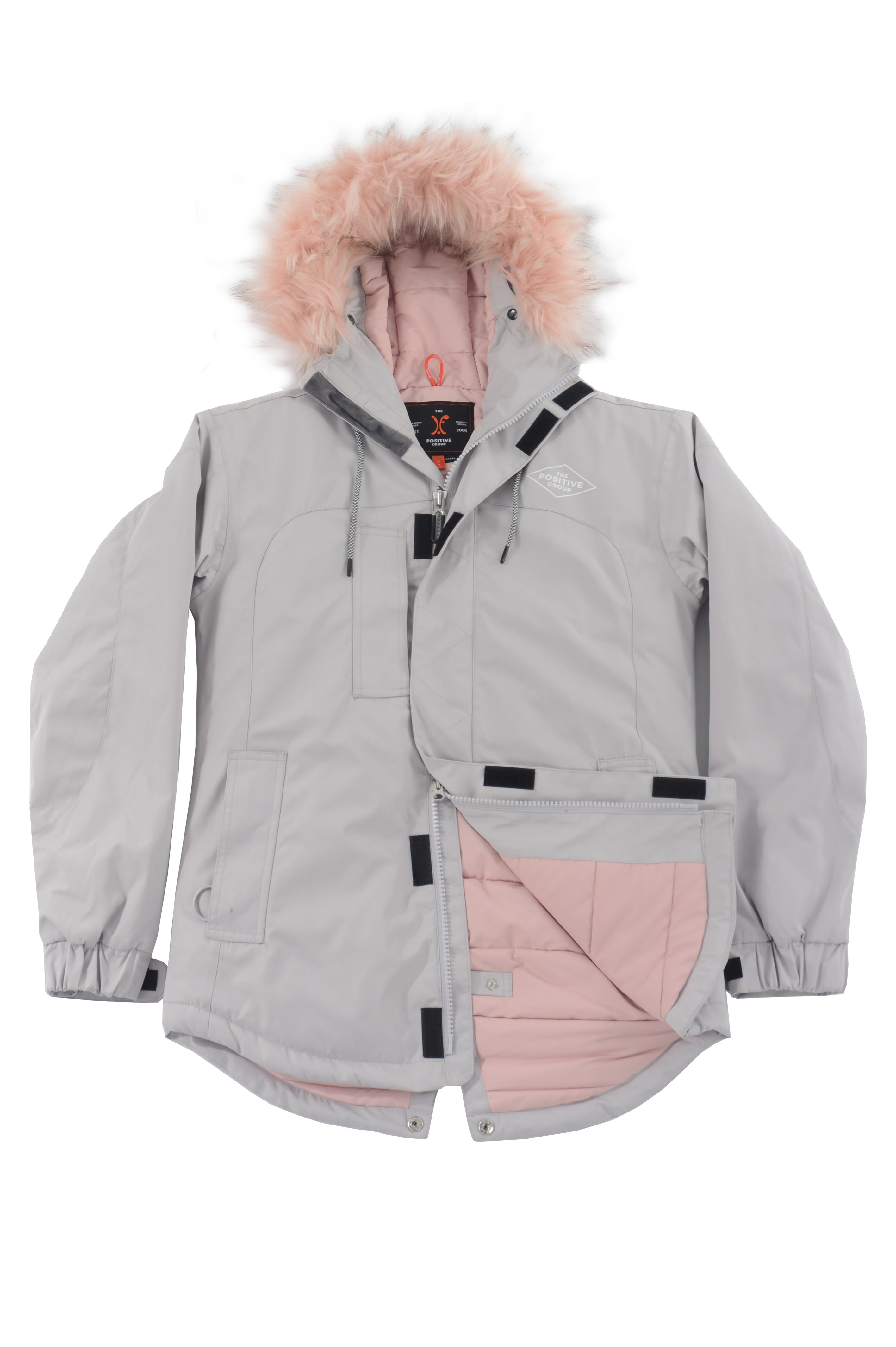 UPNORTH JACKET SOFT GREY, Positive Group,