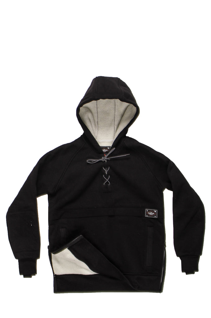 UPSALA HOODIE - JET BLACK, Positive Group,