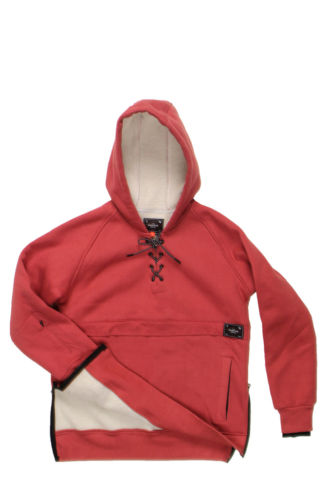 UPSALA HOODIE - FADED ROSE, Positive Group,
