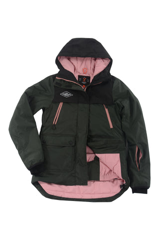 COLD LAKE JACKET - oxblood