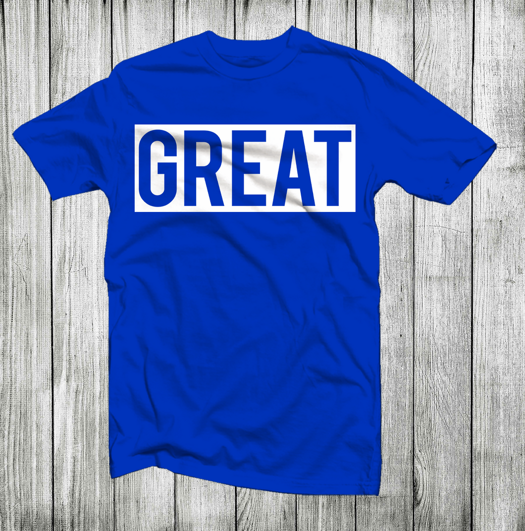 GREAT MEN SHORT SLEEVE T-SHIRT