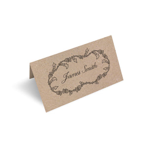 Scottish Thistle Place Cards, Thistle Wreath, Scottish Wedding, Scottish Invitations, Highland Wedding, Tartan Wedding, 20 Pack