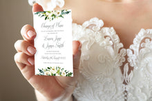 White Wedding Change of Plans Cards, Postponed Wedding, Change The Date, White Floral Watercolour, White Peony, White Rose Invites, Botanical Wedding, 10 Pack
