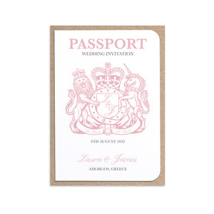 Passport Wedding Invitations, Boarding Pass Invite, Wedding Abroad, Destination Wedding, Travel Wedding, Plane Ticket Invite, 10 Pack