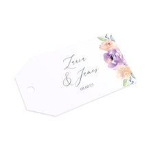 Lilac and Blush Tags & Twine, Purple Wedding, Lilac Wedding, Blush, 10 Pack