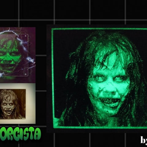 Drawing 3D The Exorcist