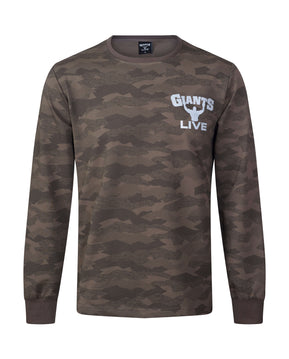 NEW Khaki Camo Long Sleeve Sweat