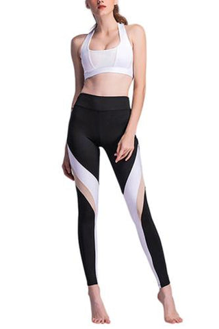 b43e9489f79b6 Basic Boutique Compression form fitting leggings - No weak points
