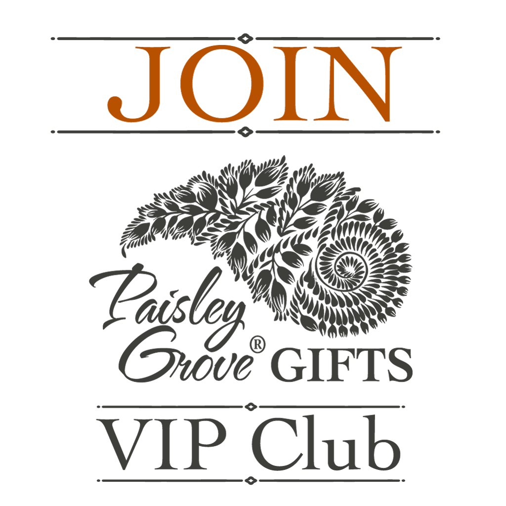 ©PaisleyGroveGIFTS.com PaisleyGroveGIFTS VIP Club Join Button