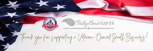 PaisleyGroveGIFTS - Veteran Owned Business Personalized Gifts Manufacturer over USA Flag Banner