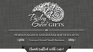 PaisleyGroveGIFTS Handcrafted Gifts for Mom Dad Brides Graduates Housewarming