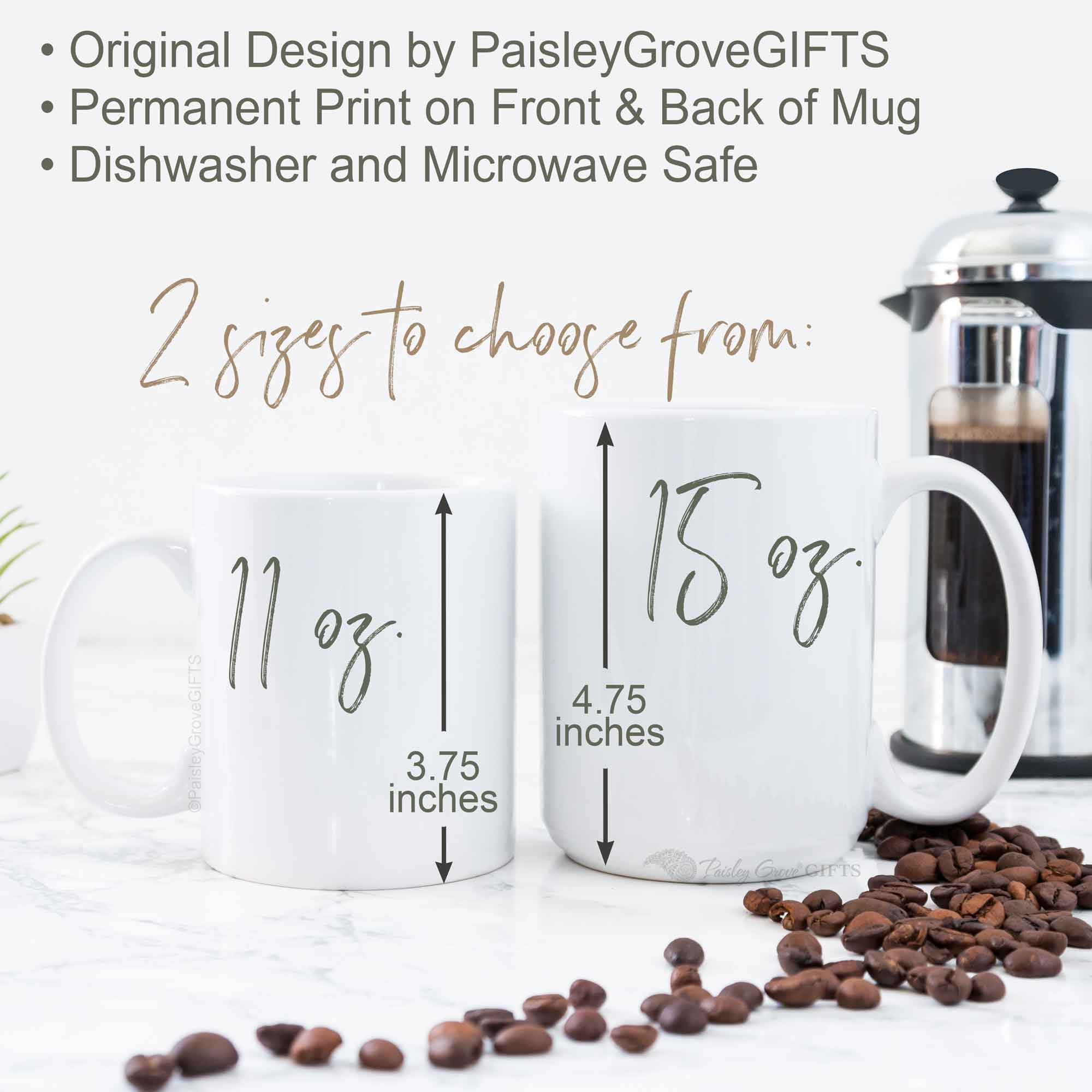 CopyrightPaisleyGroveGIFTS P001g 11 or 15 oz available Homeschool Mom Retro Coffee Mugs