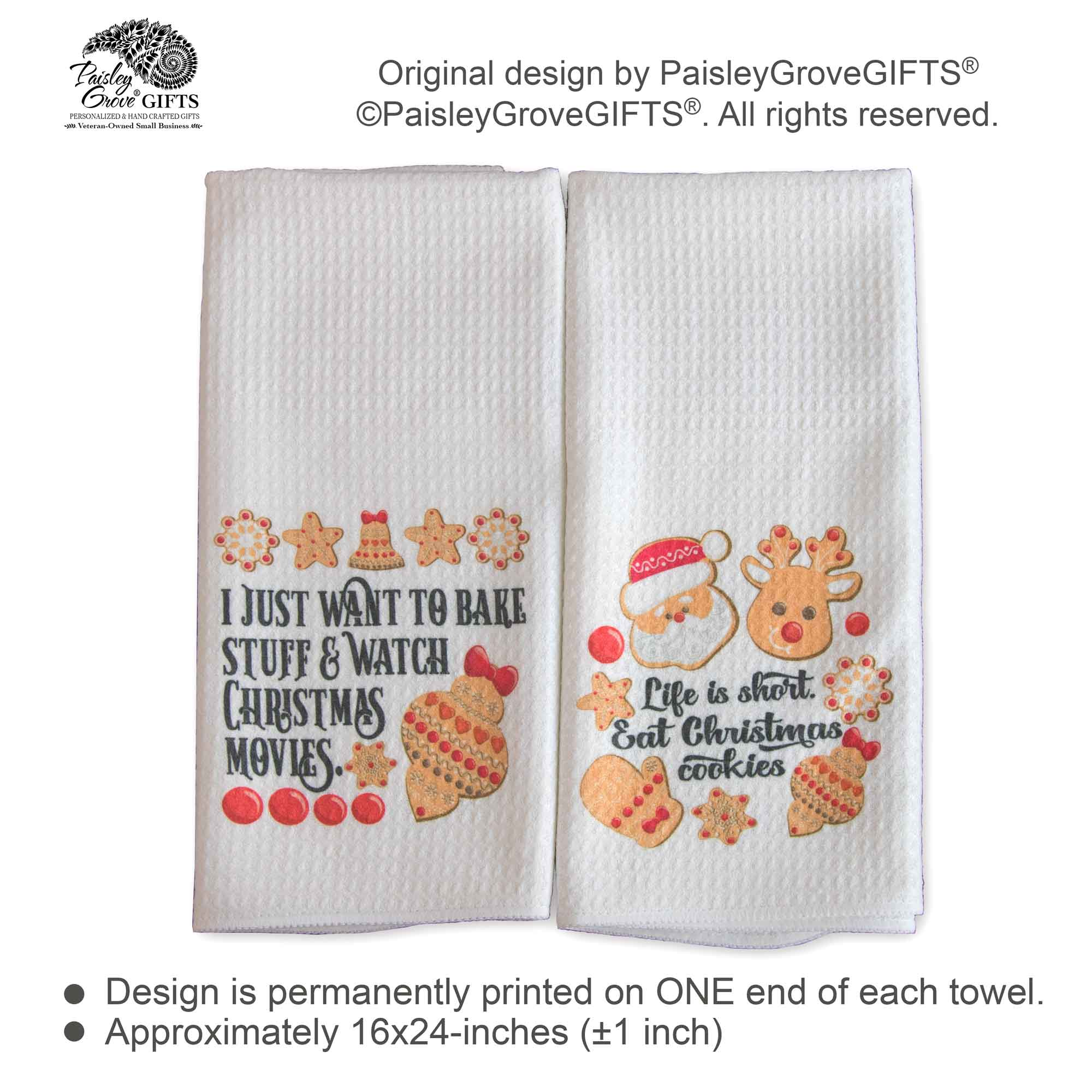 CopyrightPaisleyGroveGIFTS S131ab Information on Funny Gifts for Bakers Christmas Gifts for Her