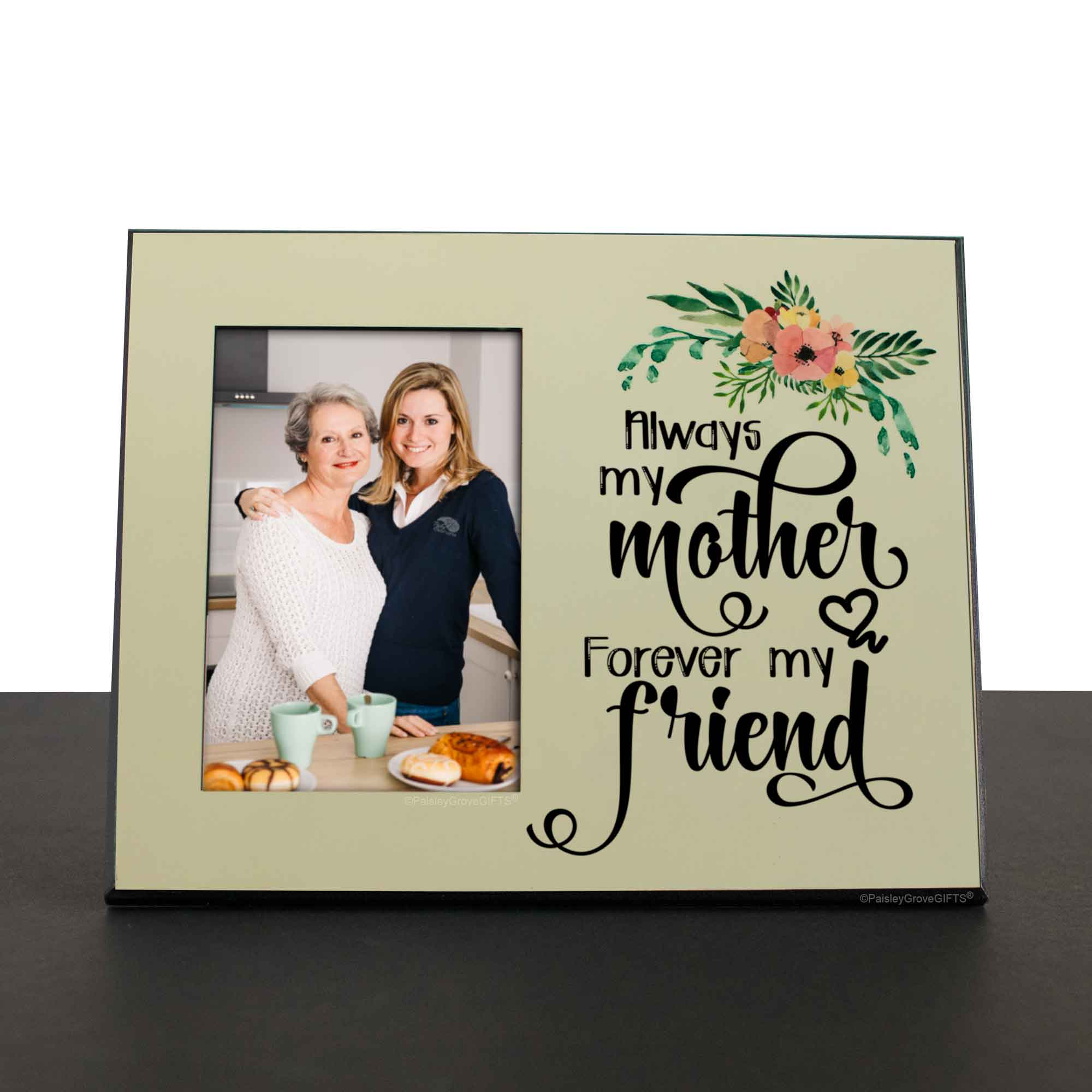 CopyrightPaisleyGroveGIFTS S201d Sentimental gift for mom heartwarming mom quote on desk shelf or mantle
